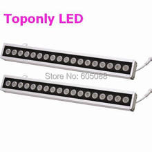 0.5m linear DC24v IP65 waterproof 18pcs Cree XPE led projection lighting R/G/B/W/Y/RGB colors led wall washer landscape lamps