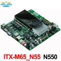 N550 Dual Core Fino Mini-itx Motherboard DC 12 V