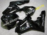 Hot Sales,For TRIUMPH DAYTONA 675 Daytona 675 2006 2007 2008 Daytona675 06 07 08 whole gloss black Fairings (Injection molding)