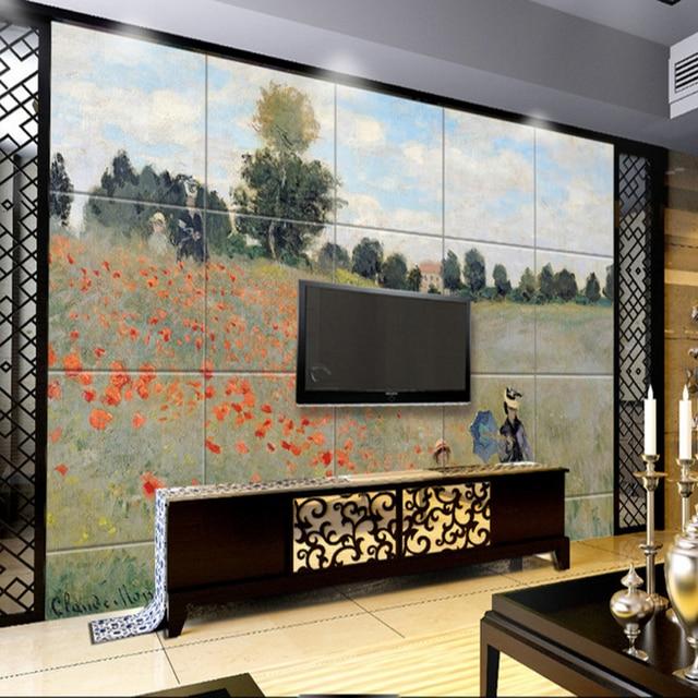 3d home decorating custom wallpaper for living room TV background ...