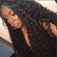 Qearl 200% 250% толстые высокая плотность Синтетические волосы на кружеве парики свободные бразильский Волосы remy парик бесклеевого Синтетически