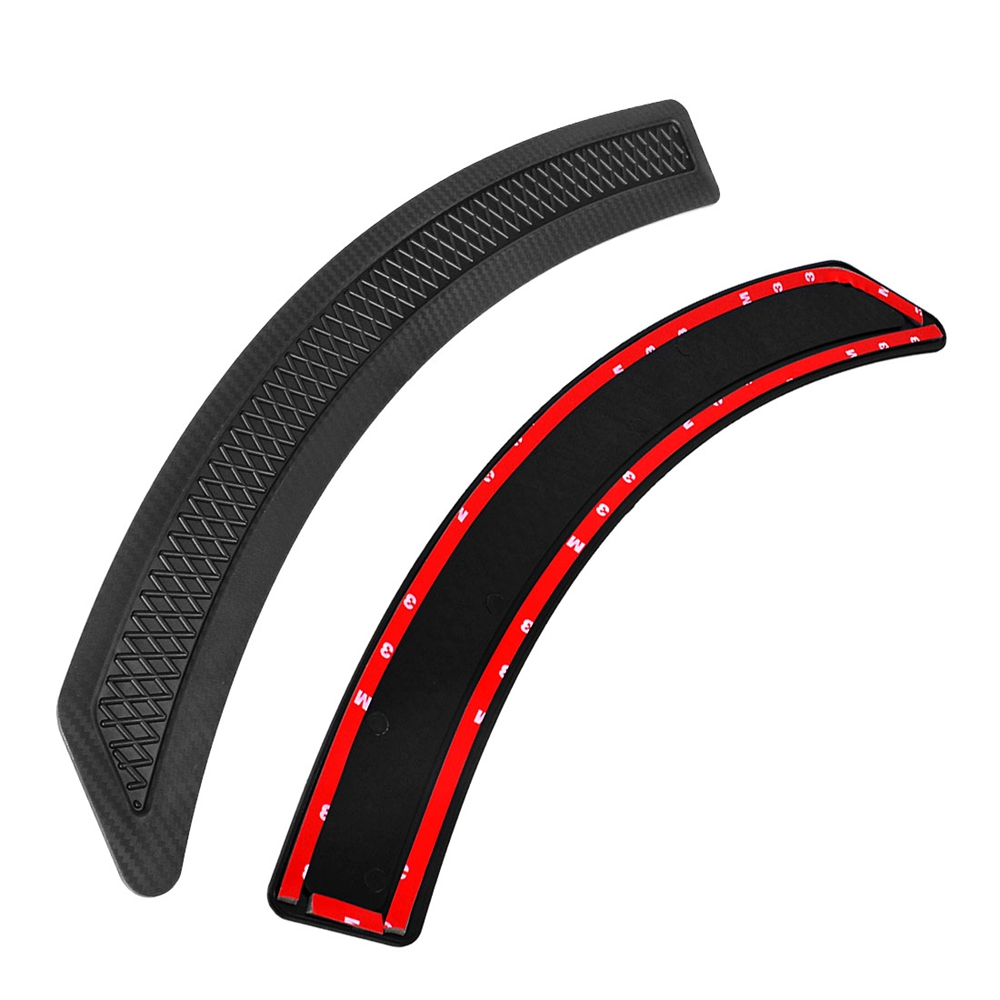 Image 4 - runmade 1Pair For 2008 2015 Mitsubishi Lancer EVO Matte Black Carbon Fiber Front Fender Side Vent Cover-in Car Stickers from Automobiles & Motorcycles