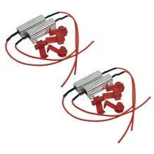 ICOCO Безошибочную Нагрузочного Резистора Warning Canceller Decoder Рулевого Лампа Неисправности Выпрямитель резистора Декодер 50 Вт 4 шт.