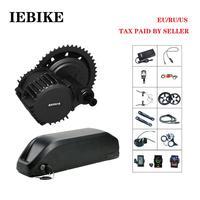 Bafang BBS02 48V500W Mid Drive E Bike Motor Conversion Kit for Electric Bike E Bike Kit with 48V 16AH Battery Ebike Engine Kit