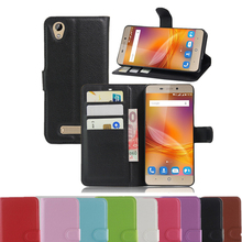 A452 Vintage Wallet Leather Phone Case For ZTE Blade A452 Flip Cover Luxury Case For ZTE A452 Coque With Stand + 2 Card Slots
