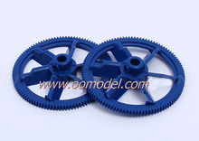Alzrc 450 Pro parts H12022-4 Autorotation tail drive gear Blue ALZrc 450 RC Helicopter t-REX 450 Spare Part FreeTrack Shipping