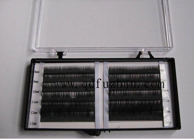 0030-01 Mix size  mink eyelash 0.2mm 9mm-14mm  D-curl
