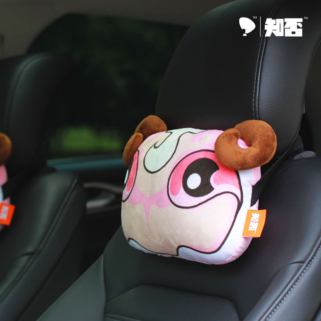 2PSC/LOT , Car Headrest  Auto Accessories  Seat Supports Sheep,free shipping