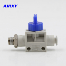 VHK2 VHK3 male thread to One-touch fitting SMC type Finger Valve With exhaust Switching regulator valve VHK2-M5-04F aq1500 m5 aq1510 01 brand new genuine authentic smc quick exhaust valve