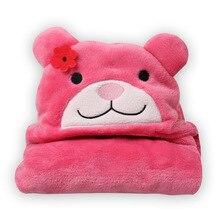 5 types New Cartoon Animal Baby Hooded Bathrobe Baby Towel Children Bath Kids Infant Baby Bathrobe