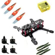 QAV250 Mini H  FPV Carbon Quadcopter Combo Kit Frame CC3D Flight Controller Motor  ESC