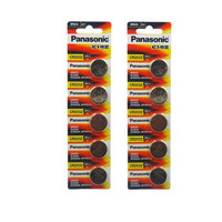 10pcs original brand new battery for PANASONIC cr2032 3v button cell coin batteries for watch computer cr 2032