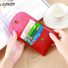 купить Fashion PU Leather Short Women Wallet Zipper Small Women Wallets Card Bag Coin Purse Pockets Credit Holders Deer head 300 по цене 389.48 рублей