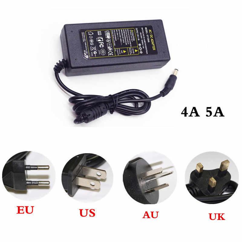 1 м 2 м 3 м 4 м 5 м 5050SMD УФ Светодиодные ленты набор DC12V 60 Светодиодный s/M Белый/Черный PCB светодиодный лента свет + 1/2/3/4/5A Мощность адаптер + connect + переключатель