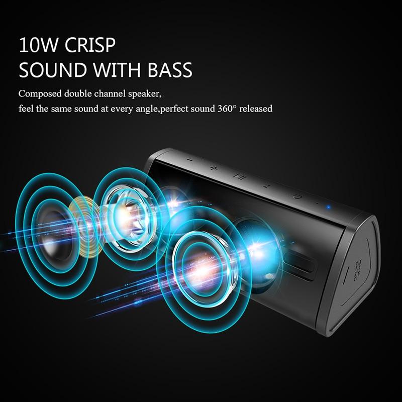 Image 3 - Mifa Portable Bluetooth speaker Portable Wireless Loudspeaker  Surround Sound System 10W stereo Music Waterproof Outdoor  SpeakerPortable Speakers