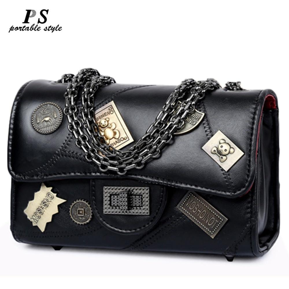 b83b65430ea Achat Véritable sac à main En Cuir 2018 nouvelle de luxe sac à main De Mode  Épaule Messenger Sac Femmes de sacs à main de la Mode Féminine Petit Sac  Fourre ...