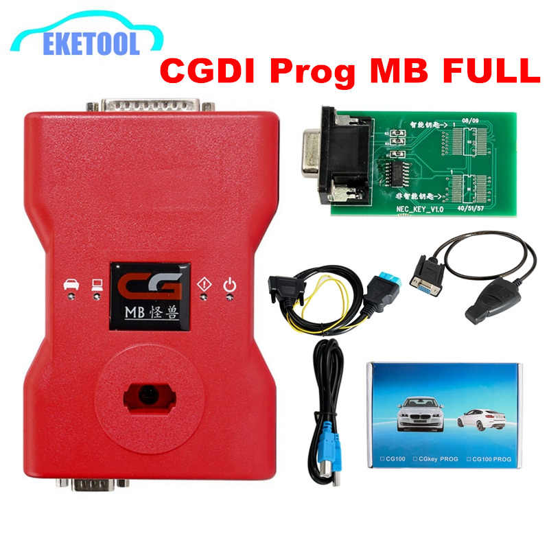 CGDI MB Prog Monster For Benz Car Fastest Add Key via OBD CGDI MB For Benz  Online Password Calculate Auto Key Programmer