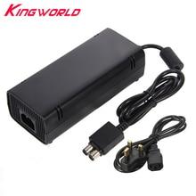 Высококачественная вилка переменного тока стандарта Великобритании зарядное устройство Блок питания AC 110-240 V для Microsoft Xbox 360 S Slim
