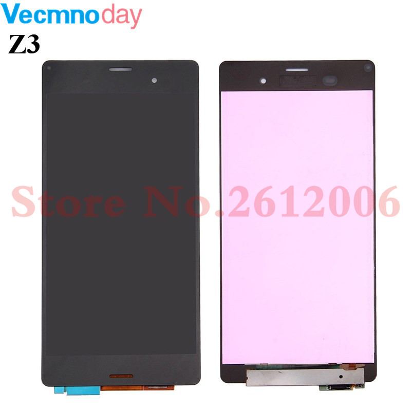Original For Sony Z3 Display Screen D6603 D6633 D6653 L55T LCD Display + Touch Glass Digitizer Assembly Replacement Screen