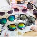 2033 cat eye sunglasses mujeres de la manera caliente con caja de los vidrios uv400 diseñador de la marca de la vendimia gafas de sol hombres mujeres gafas