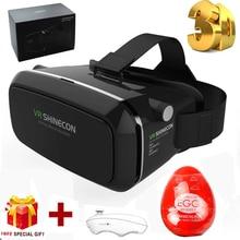 VR Shinecon 3D Glasses Helmet 3 D VR for Samsung Galaxy C5 xiaomi mi5+Controller+sex egg for man