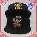 Nuevos Estilos Embroideried Garfield Gato de Dibujos Animados Sombreros Del Snapback Calle Hip hop de Fines de Semana Bailando Cap