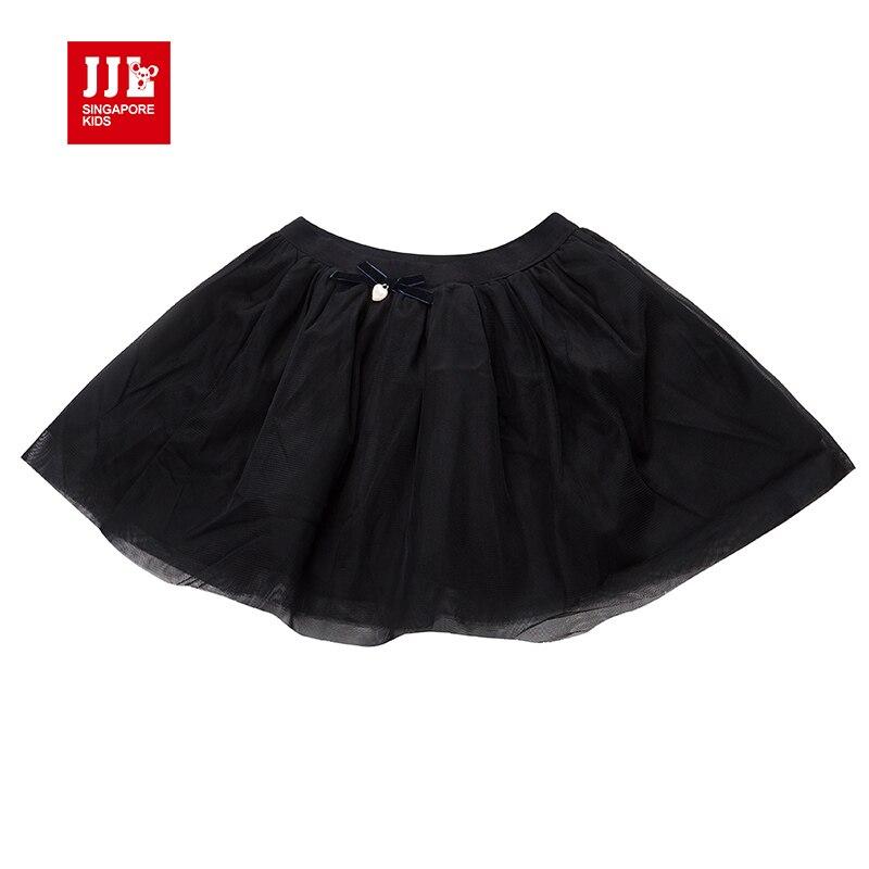 black girls tutu skirt kids ball gown 2016 fall bow waist kids mini skirt above knee