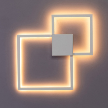 Zerouno Decorative modern LED Wall Lamp DIY background light indoor for home interior TV Wall Lights lounge living Room bedroom 10