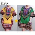 Dashiki Men Shirt African Hippie Vintage Women Tops Haute Tribal Blouse Traditional Tie-dye Design African Bazin Riche Clothes