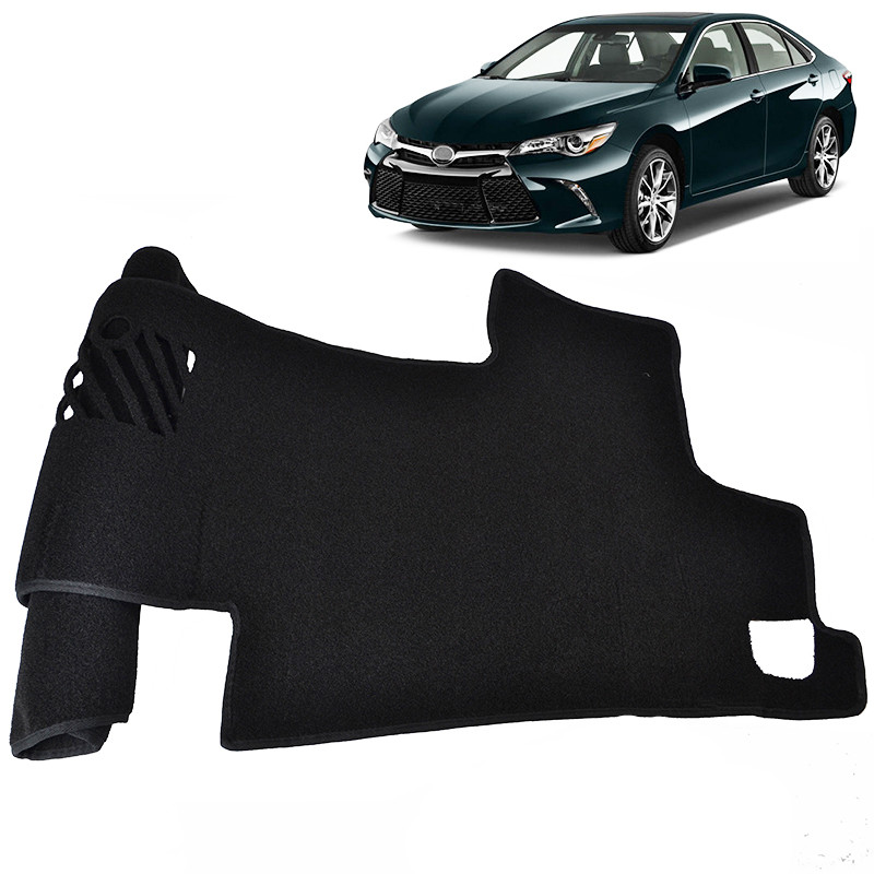 For Toyota Camry XV50 2012 2017 Dashboard Cover Dashmat Dash Mat Pad Interior Sun Shade Dash Board Cover ANTI UV Car Accessories in Interior Mouldings from Automobiles Motorcycles