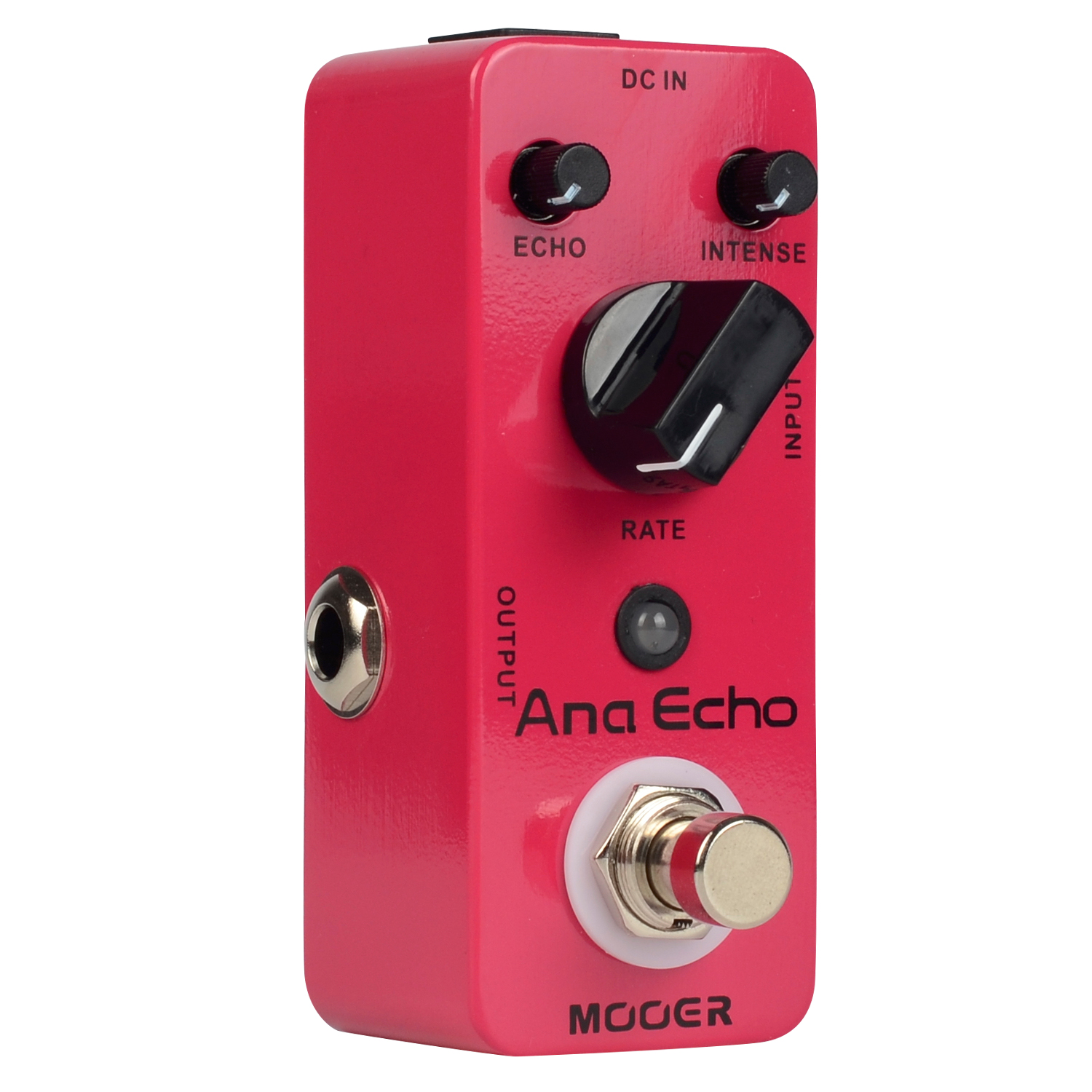 Mooer Ana Echo Analog Delay Mini Guitar Effects Pedal True Bypass Clear Smooth Sound MAD1 aroma adr 3 dumbler amp simulator guitar effect pedal mini single pedals with true bypass aluminium alloy guitar accessories