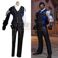 OW Cosplay Costume Shimada Hanzo Cosplay Costume Halloween Uniform Full Set Customized Any Size