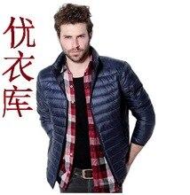 Новая мода зимнее пальто мужчины зимняя куртка мужчины тонкий вниз куртка теплый мужской пальто белая утка вниз парка С, M, L, XL, 2XL, 3XL