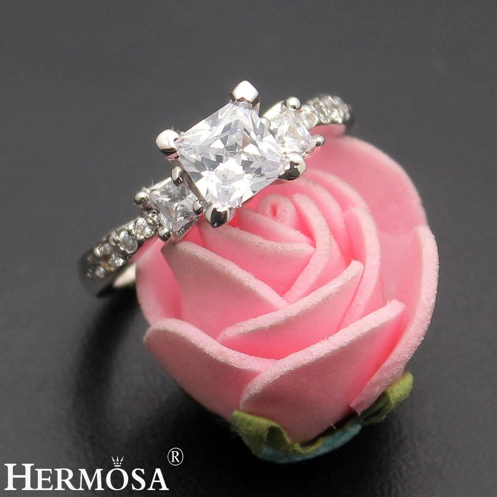 Aliexpress.com : Buy Exclusive Wedding Rings Zircon 1 Pair Rings ...