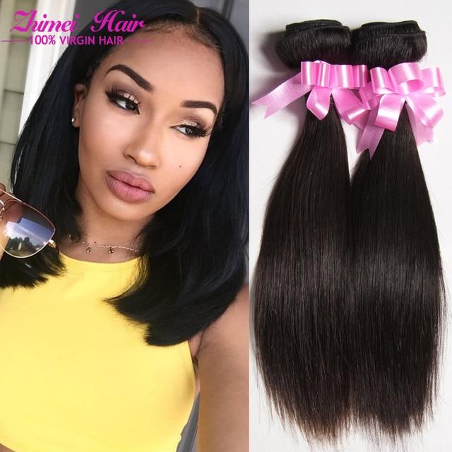 Popular 7a Malaysian Straight Hair Bob Weave 4pcs Malaysian Straight