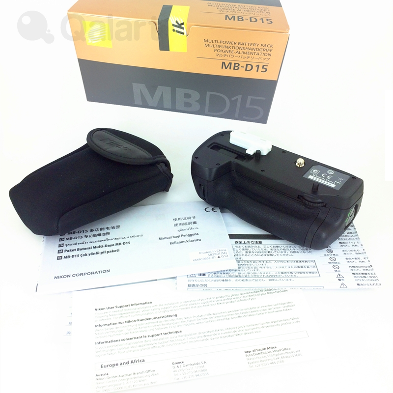 Vertical Multi Power Battery Grip Pack for Nikon D7100 D7200 as MB D15 Support EN EL15 EN EL15A 6*AA