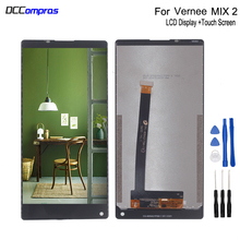 Original For Vernee Mix 2 LCD Display Touch Screen Digitizer Assembly Repair Parts For Vernee Mix 2 Screen LCD Display FreeTools lmg7401plbc 5 7 inch lcd screen display panel for hmi repair parts new