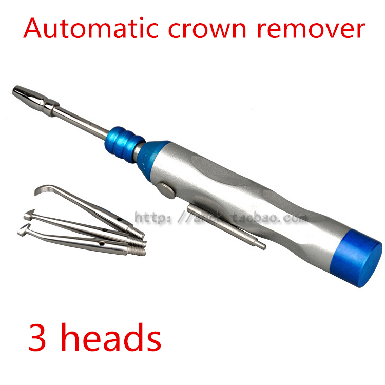 medical 1 Set Dental Materials /Dentist Portable Automatic Crown Remover Gun Surgical Instruments Dentistry Equipment Tools 1 set new dental lab equipment automatic crown remover set dentist tools for dental materials