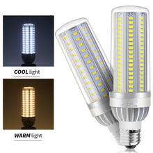 LED Light E26 110V Corn Bulb lamp E27 220V 5730 SMD High lumen 25W 35W 50W power AC85V-265V Led Bombillas Fan Cooling