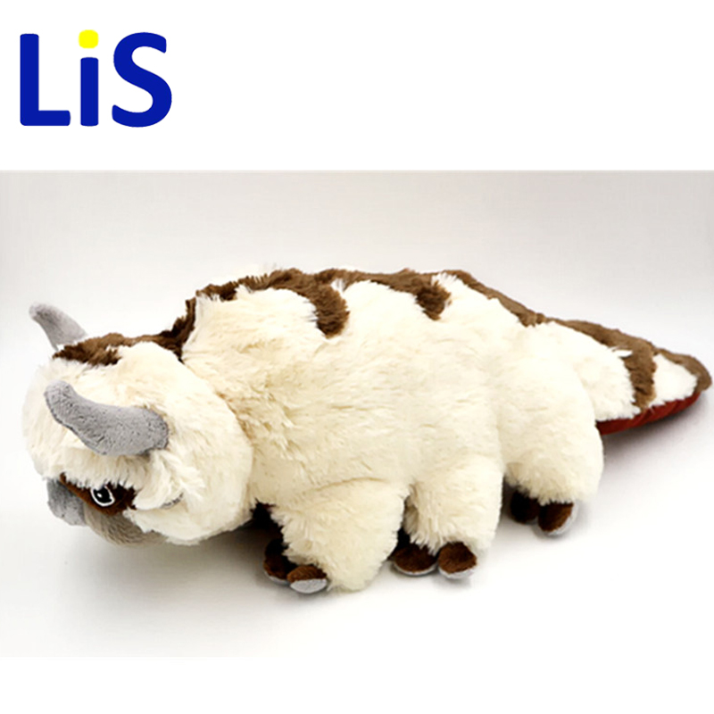 Lis 50CM Big Size Anime Kawaii Avatar Last Airbender Appa Plush Toy Soft Juguetes Stuffed Animal Brinquedos Doll Kids Toys the last airbender resource appa avatar stuffed plush doll toy x mas gift 50cm