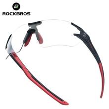 ROCKBROS Photochromic Cycling Bike Bicycle Glasses Sports Men's Sunglas