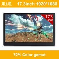 17,3 дюймов 120 Гц NTSC 72% HDR ips Тип C игры Портативный Экран Высокая обновить 1920*1080 Ps4 Xbox НС Дисплей HDMI монитор портативных ПК