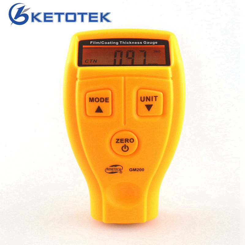 GM200 0~1.80mm Paint Coating Thickness Gauge Tester Diagnostic-tool Car Thickness Gauges