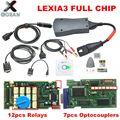 Новое поступление  диагностический инструмент Lexia 3 с полным чипом Diagbox V7.83 8 55 PP2000 V25 /V48  прошивка 921815C для Citroen  Peugeot  OBDII