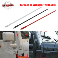 13 8mm AM FM Signal Amplifier Aerial Radio Antenna Mast For Jeep Wrangler JK Unlimited 2007 2008 2015 Antena Auto Roof Whip