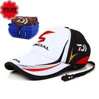 Adulte Hommes Réglable Respirant Bouchon De Pêche Japon Parasol Sport Baseball Pêcheurs Chapeau Cap Noir Spécial Seau Chapeau Avec Logo