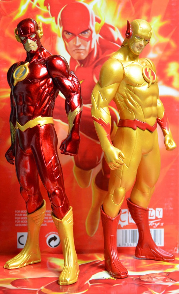 18CM PVC Super Hero Justice League Flash Barry Allen Action Figure Reverse Flash Furnishing Articles Model Holiday Gift Ornament the flash action figure barry allen justice league 12inch pvc figure anime superhero the flash collectible model doll