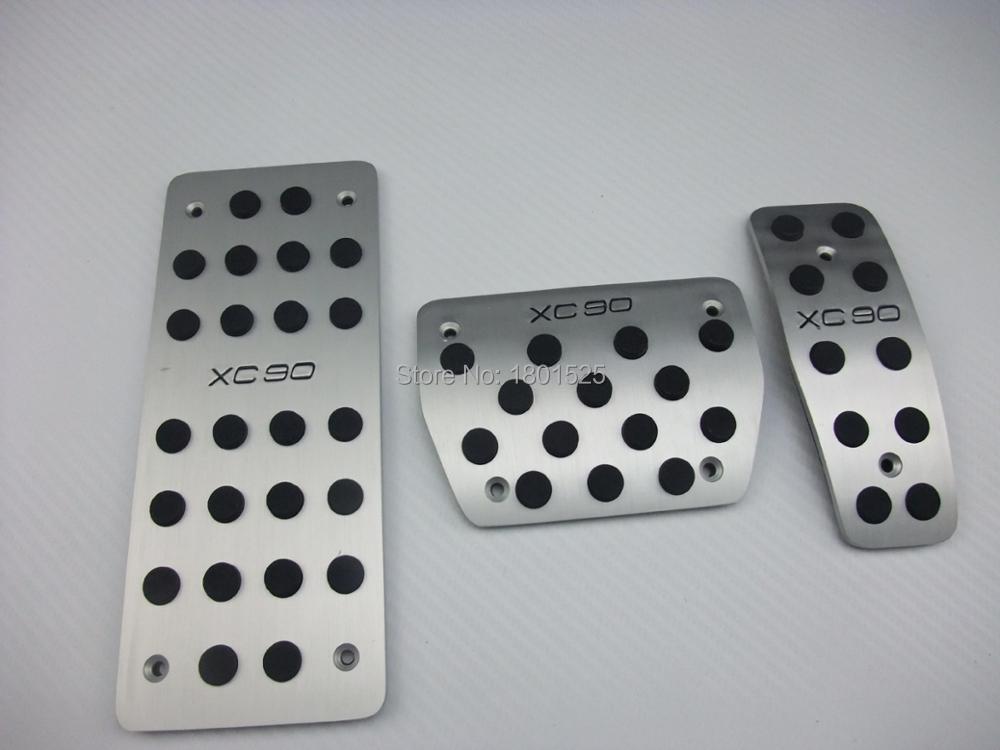 Pédale de voiture repose frein en alliage d'aluminium Pedale pour VOLVO S40 S60 XC60 XC90 C30 AT