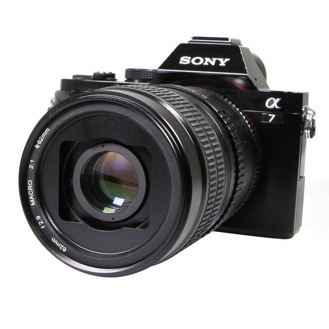 Objectif Macro manuel Meking 62mm 2:1 objectif principal pour Canon AF PK NEX FX M4 M3 caméra Len