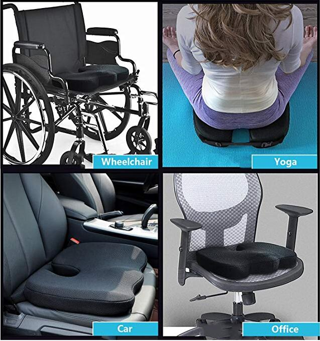 Comfortable Corrects Postures 3D Mesh Fabric Wheelchair Sofa Chair Outdoor Coccyx Orthopedic Memory Foam Car Seat